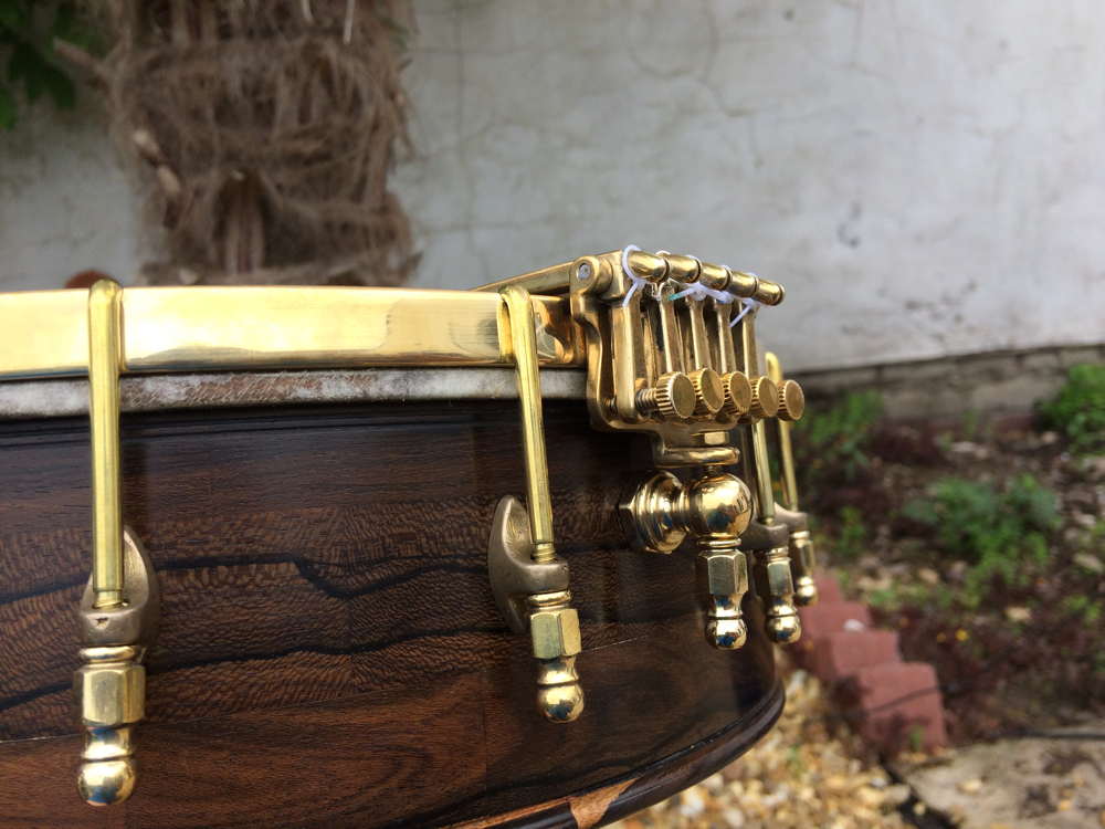 Oettinger Tailpiece Mounted on 5 String Banjo